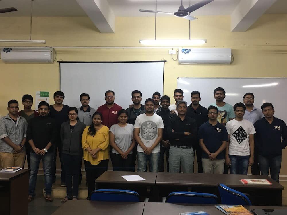 course module on social media for business at IIM Sambhalpur