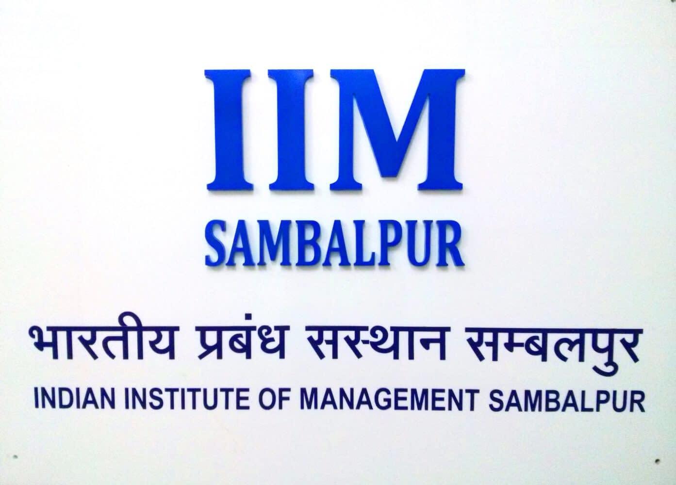 IIM Sambalpur - Social Media for Business - Course
