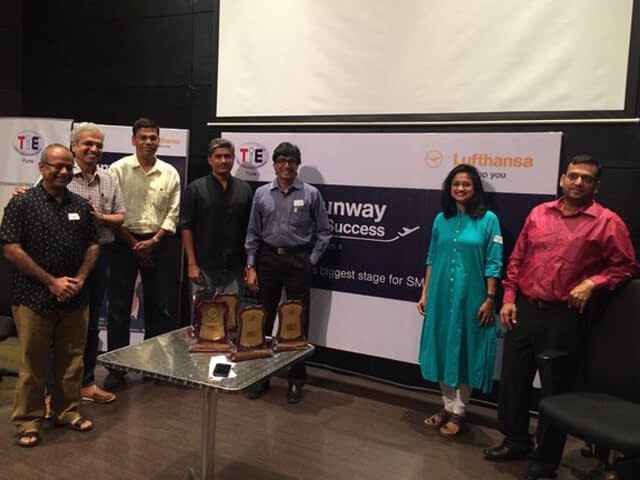 TiEPune Mentor Camp with ET Now and Luftansa Runway for Success